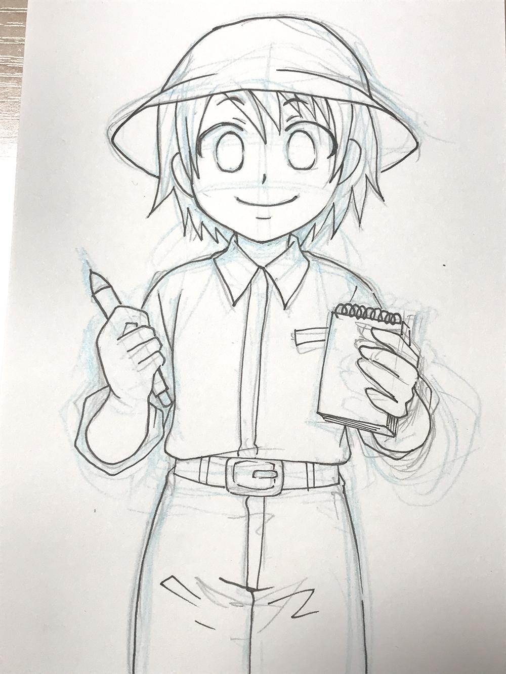 ペン入れで失敗しない線画を上手に描く方法個人的コツをまとめてみた